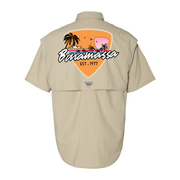 Columbia Bahama II Fossil Short Sleeve - Blues Sunset (Men)