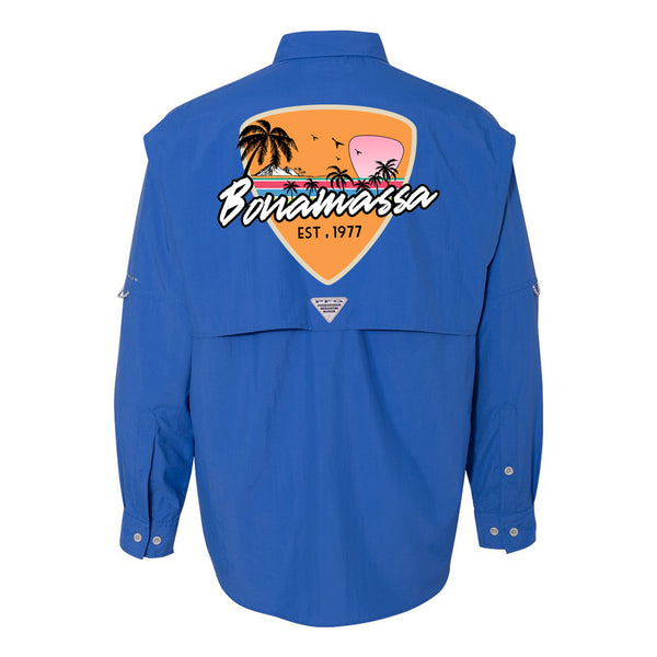 Columbia Bahama II Vivid Blue Long Sleeve - Blues Sunset (Men)