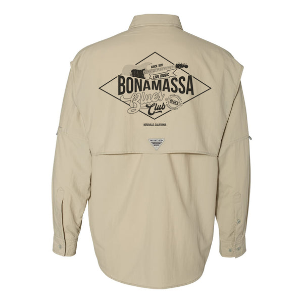 Columbia Bahama II Fossil Long Sleeve - Bonamassa Blues Club (Men)