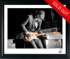 "#25 "" '55 Hardtail "" JOE BONAMASSA Collectible Litho (FRAMED - USA ONLY)"