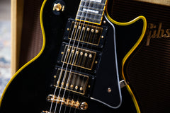 "2020 Ltd Ed Joe Bonamassa Les Paul Custom ""Black Beauty"" Standard Outfit Custom Epiphone w/Case"
