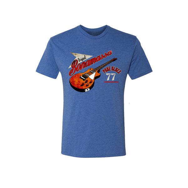 Bona-Fide Blues Tri-Blend T-Shirt (Unisex) - Vintage Royal
