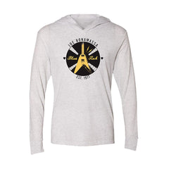 Electric Flying V Long Sleeve & Hoodie (Unisex) - Heather White