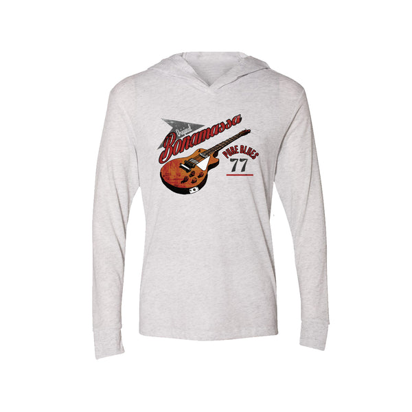Bona-Fide Blues Long Sleeve & Hoodie (Unisex) - Heather White