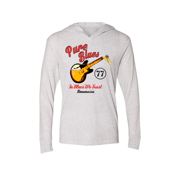 Brews & Blues Long Sleeve & Hoodie (Unisex) - Heather White