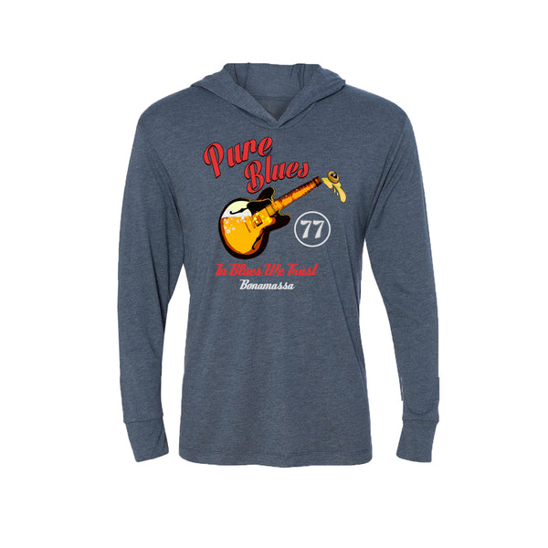 Brews & Blues Long Sleeve & Hoodie (Unisex) - Indigo