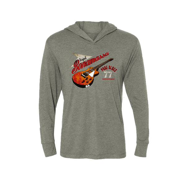 Bona-Fide Blues Long Sleeve & Hoodie (Unisex) - Premium Heather Grey