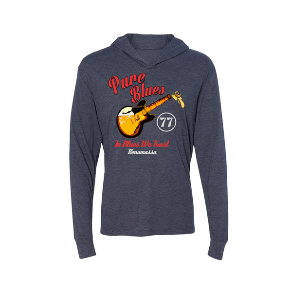 Brews & Blues Long Sleeve & Hoodie (Unisex) - Vintage Navy