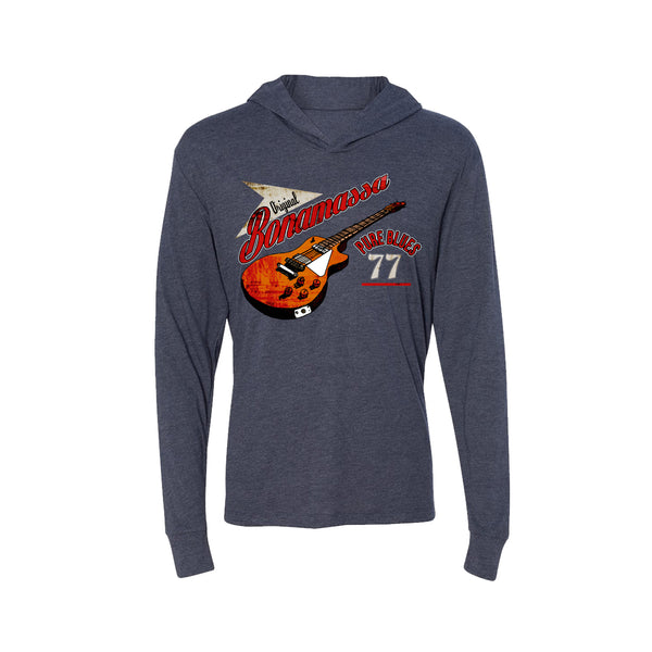 Bona-Fide Blues Long Sleeve & Hoodie (Unisex) - Vintage Navy