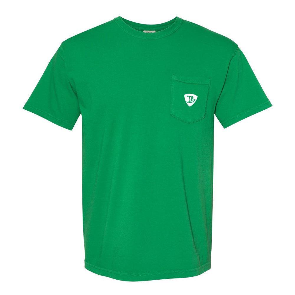 Bonamassa's Lounge Comfort Colors Pocket T-Shirt (Unisex) - Clover