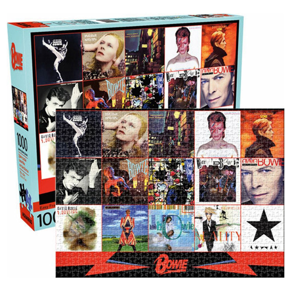 David Bowie Discography Puzzle