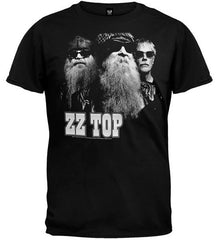 ZZ Top - Black Photo T-Shirt (Men)