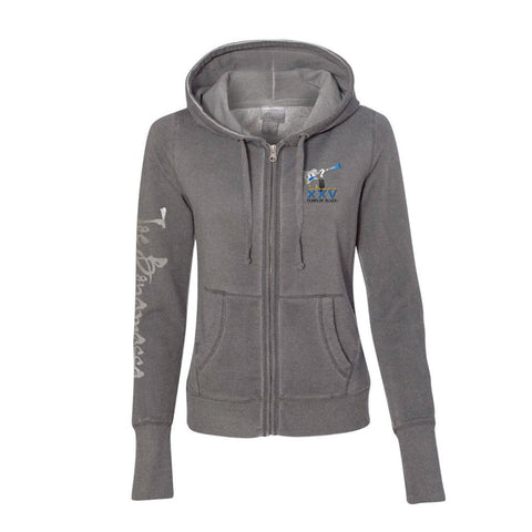 25th Anniversary Logo Hoodie (Women) - Dark Smoke