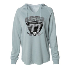 "Bluesville ""77"" Shield Lightweight Pullover (Women) - Sage"