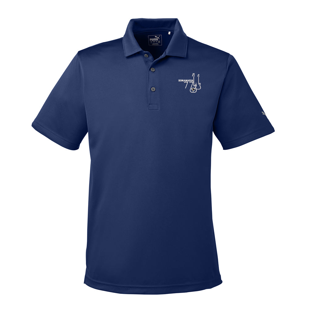 Bonamassa '77 Puma Golf Icon Polo (Men) - Peacoat