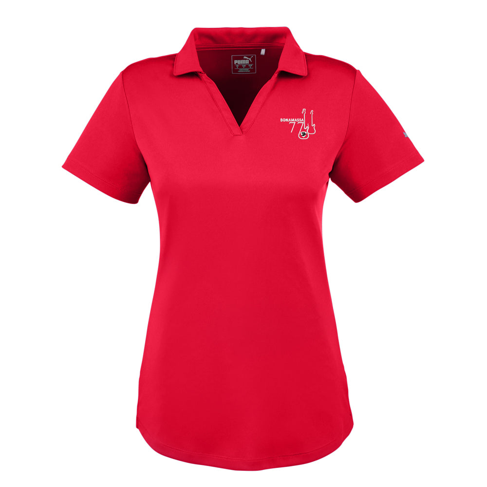 Bonamassa '77 Puma Icon Golf Polo (Women) - Red