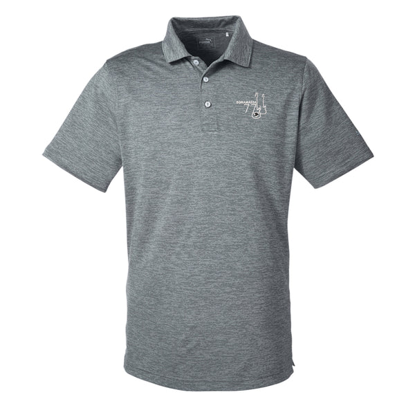 Bonamassa '77 Puma Golf Icon Heather Polo (Men) - Shade