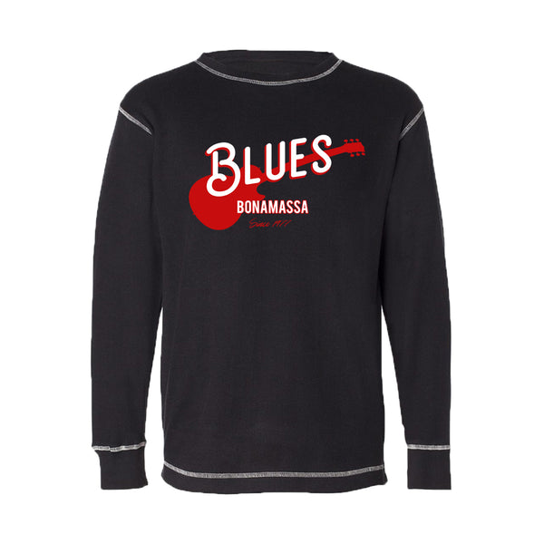Certified Blues Thermal (Unisex) - Black