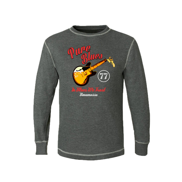 Brews & Blues Thermal (Unisex) - Charcoal