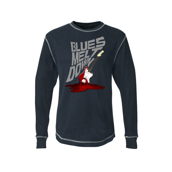 Blues Meltdown Thermal (Unisex) - Vintage Navy