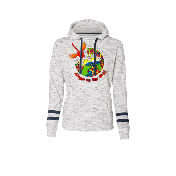 Blues Universe Hooded Sweatshirt (Women) - Navy