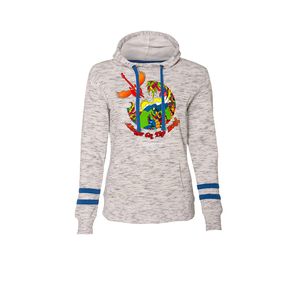 Blues Universe Hooded Sweatshirt (Women) - Royal Blue