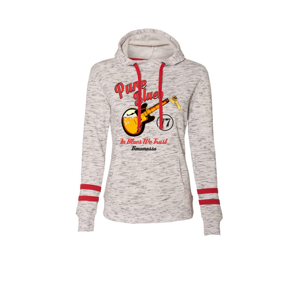 Brews & Blues Hooded Sweatshirt (Women) - Red