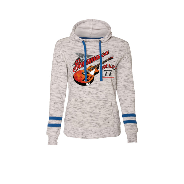 Bona-Fide Blues Hooded Sweatshirt (Women) - Royal Blue