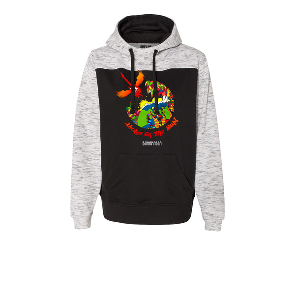 Blues Universe Hooded Sweatshirt (Men) - Black