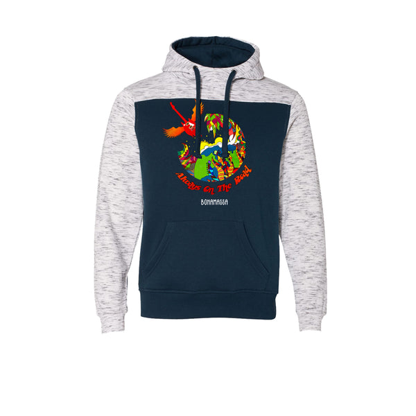Blues Universe Hooded Sweatshirt (Men) - Navy