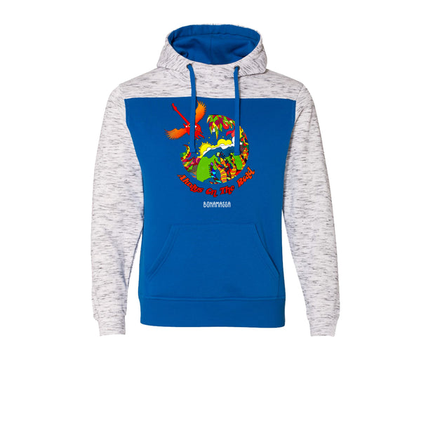 Blues Universe Hooded Sweatshirt (Men) - Royal Blue