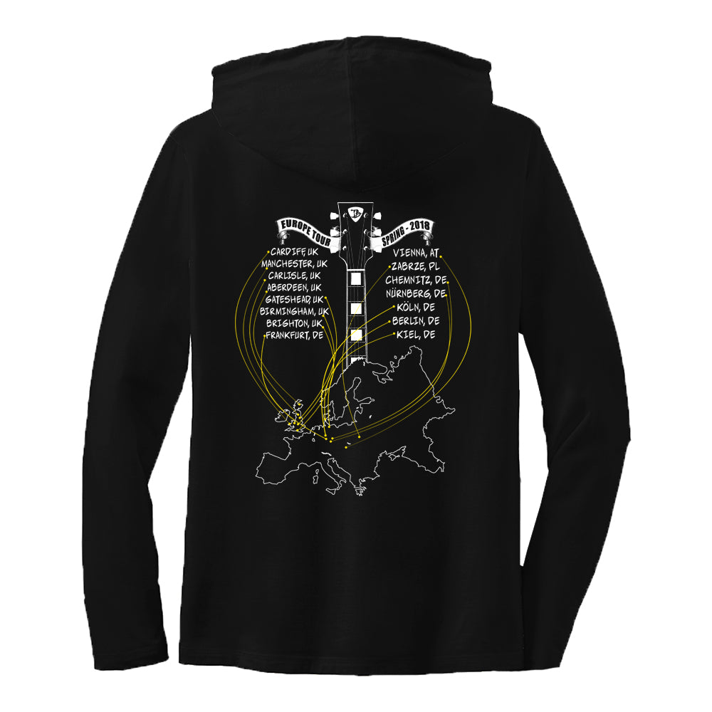 2018 Europe Tour Hooded Long Sleeve (Women)
