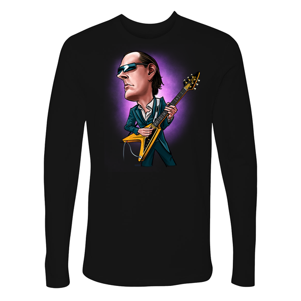 Joe Bonamassa & Amos Cartoon Long Sleeve (Men)