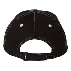 Monochromatic Blues Tri-Color Hat - Charcoal/Black