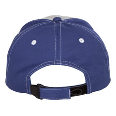 Monochromatic Blues Tri-Color Hat - Grey/Royal