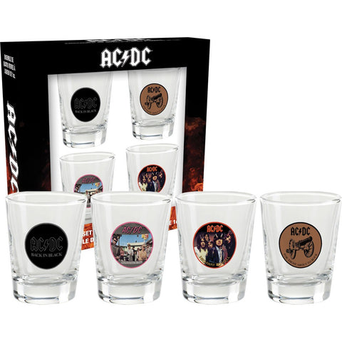 AC/DC -  Shot Glasses
