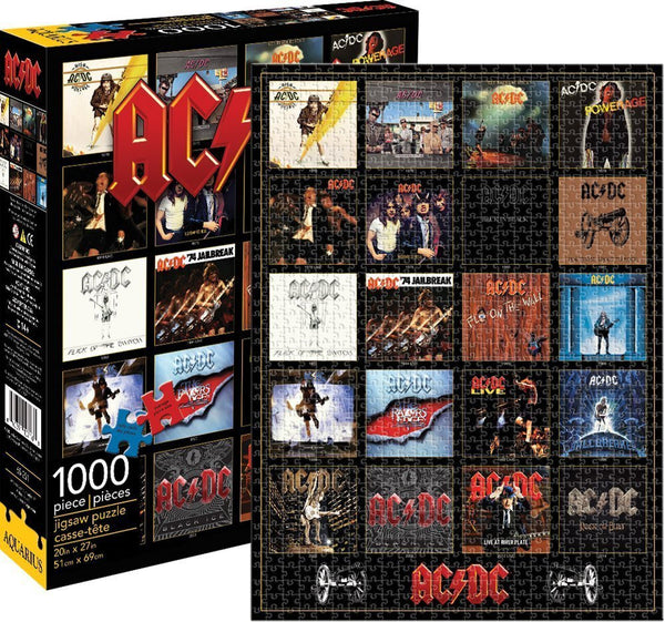 AC/DC Discography Puzzle