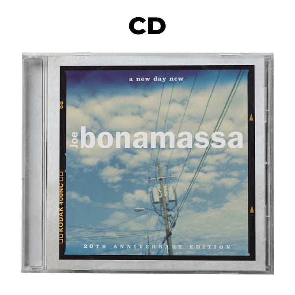 Joe Bonamassa: A New Day Now (CD) (Released: 2020) ***PRE-ORDER***