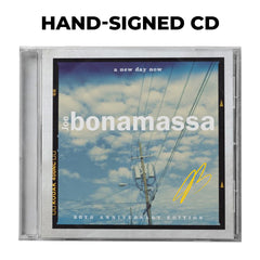 Joe Bonamassa: A New Day Now (CD) (Released: 2020) - Hand-Signed