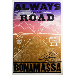 Always on the Road (2019) Hatch Print - Hand-Signed