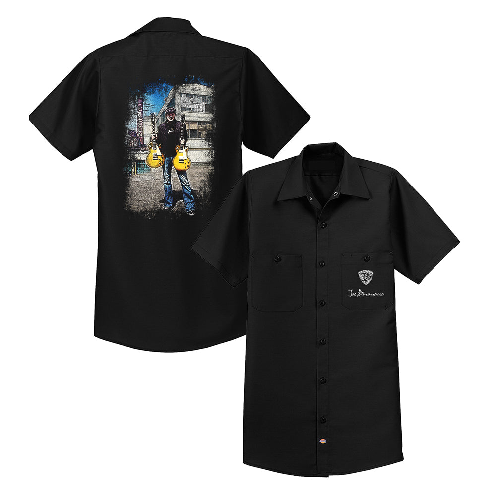 A Moment In Time Dickies Short Sleeve Work Shirt (Men)