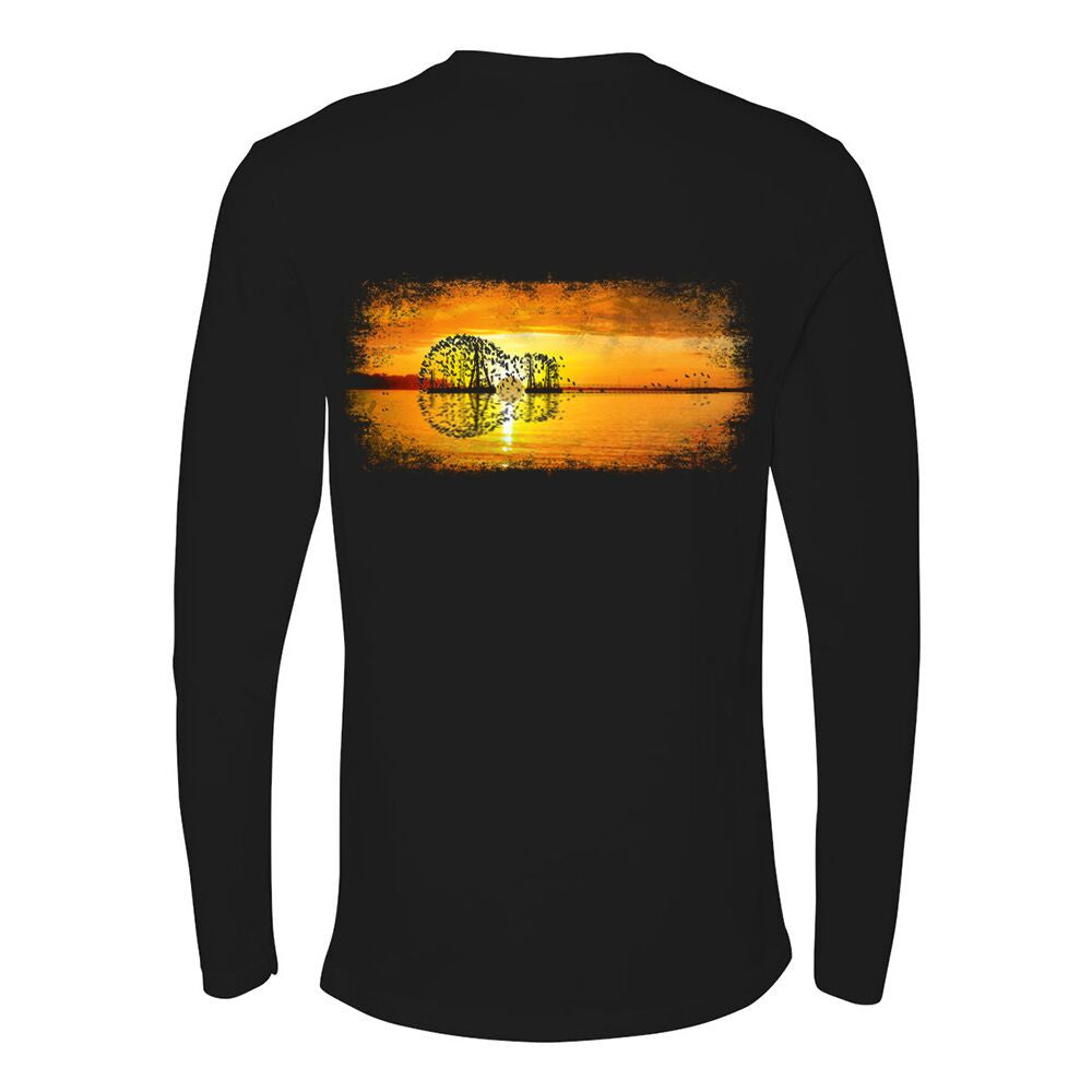 Tribut - Yellow Acoustic Sunset Long Sleeve (Men)