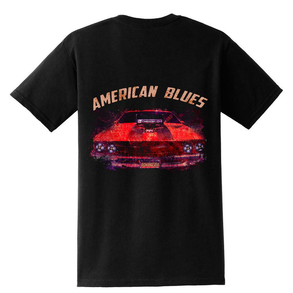 American Blues Pocket T-Shirt (Unisex)