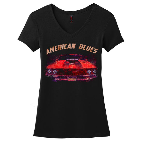 American Blues V-Neck (Women)