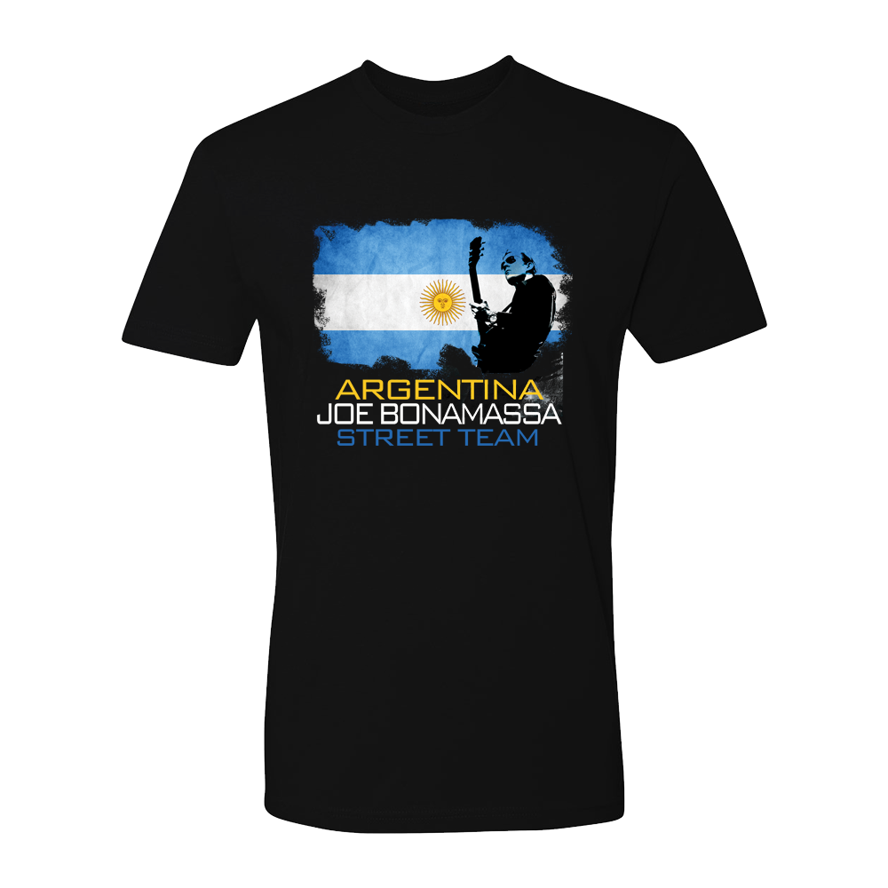 Joe Bonamassa World Shirt: Argentina