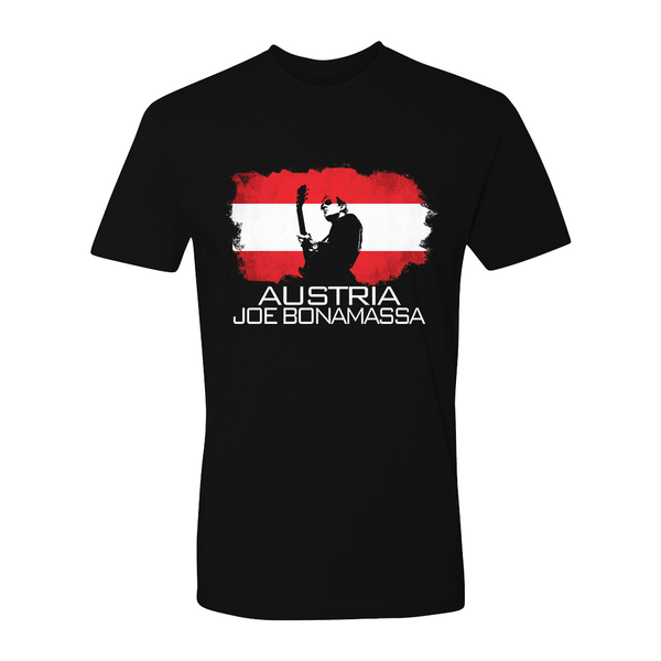 Joe Bonamassa World Shirt: Austria