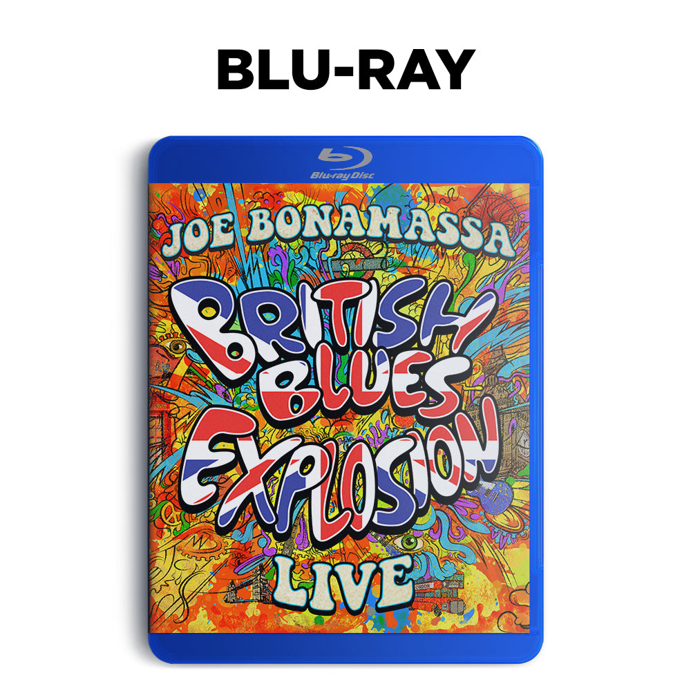 Joe Bonamassa: British Blues Explosion Live (Blu-ray) (Released: 2018)