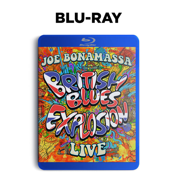 Joe Bonamassa: British Blues Explosion Live (Blu-ray) (Released: 2018) ***PRE-ORDER***