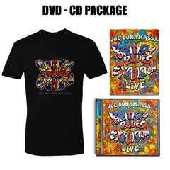 British Blues Explosion Live CD & DVD + T-Shirt Package