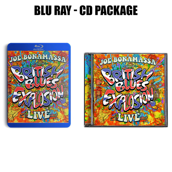 British Blues Explosion Live  CD & Blu-ray Package